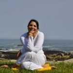 relaxing after Gomukhasana - Cow Pose